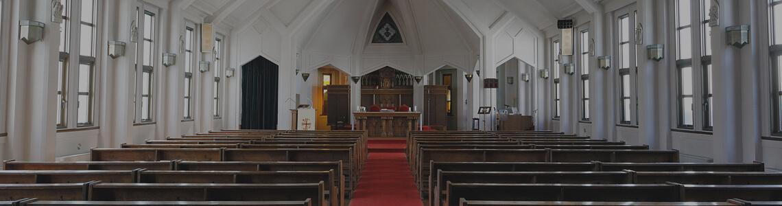 教会はいつも開放されています